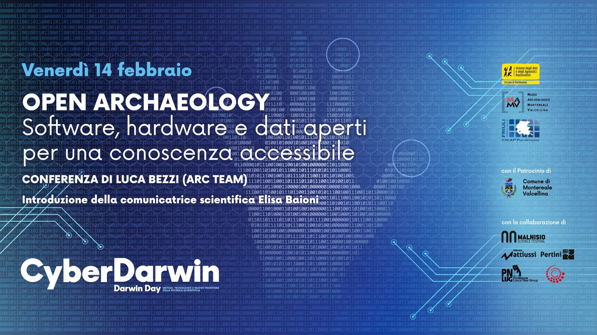 Open Archaeology - Software, hardware e dati aperti per una conoscenza accessibile